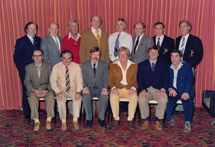 Life  Members John Russell sitting second from right