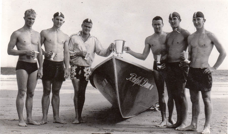 TSLSC Surf Boat Rescue Winners John Marshall Day1961