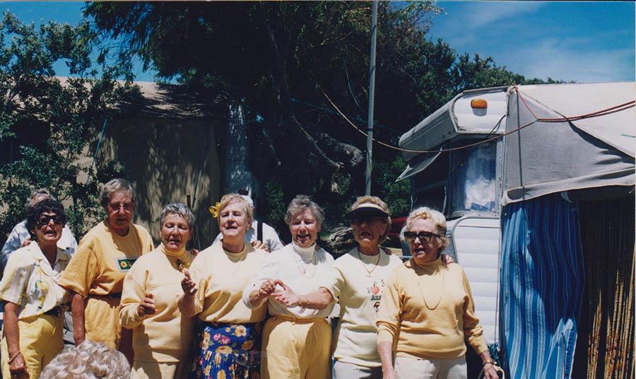 Golden Girls JudyB,Glad, Helen B, Bev S. Jean Henderson, Esther Barbara Rankin