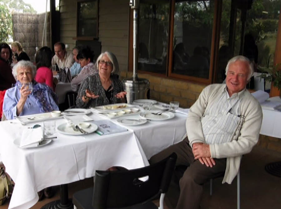 Ray At Lunch Bellbrae Harvet With Doug And Suzzanne 26th Feb 3012