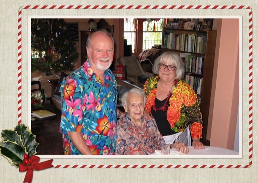Ray With Kester And Suzanne Xmas 2013