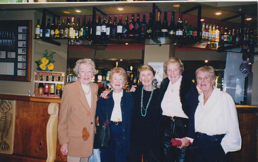 Rita, Esther, Patsy,Glad And Bev