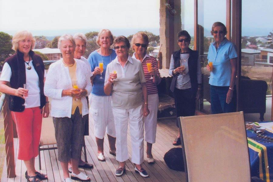 SandraJean, Rita, Bev, ...Esther, Judy, Glad